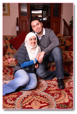 Adam and  Safiyya 5