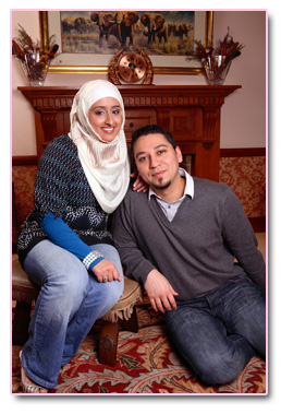 Adam and  Safiyya 6