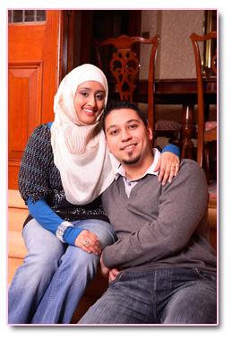 Adam and  Safiyya 7